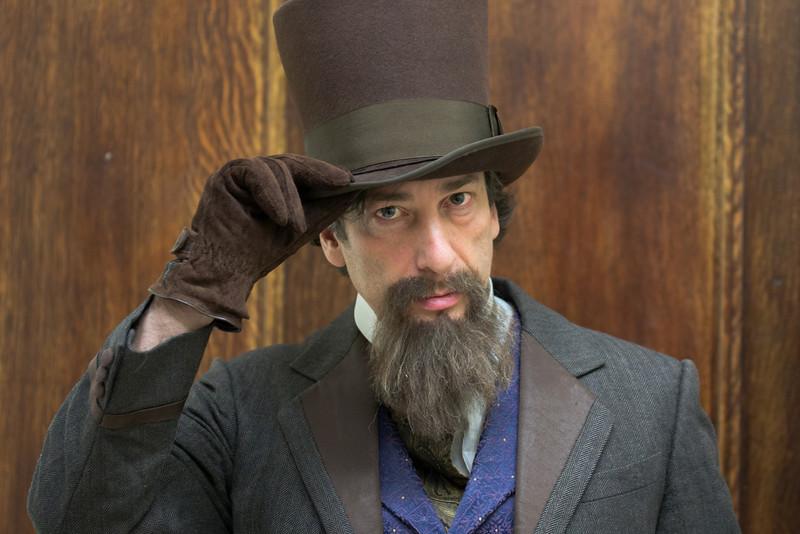Neal Gaiman as Charles Dickens